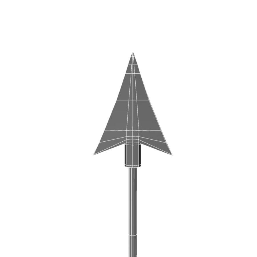 Strzałka royalty-free 3d model - Preview no. 12