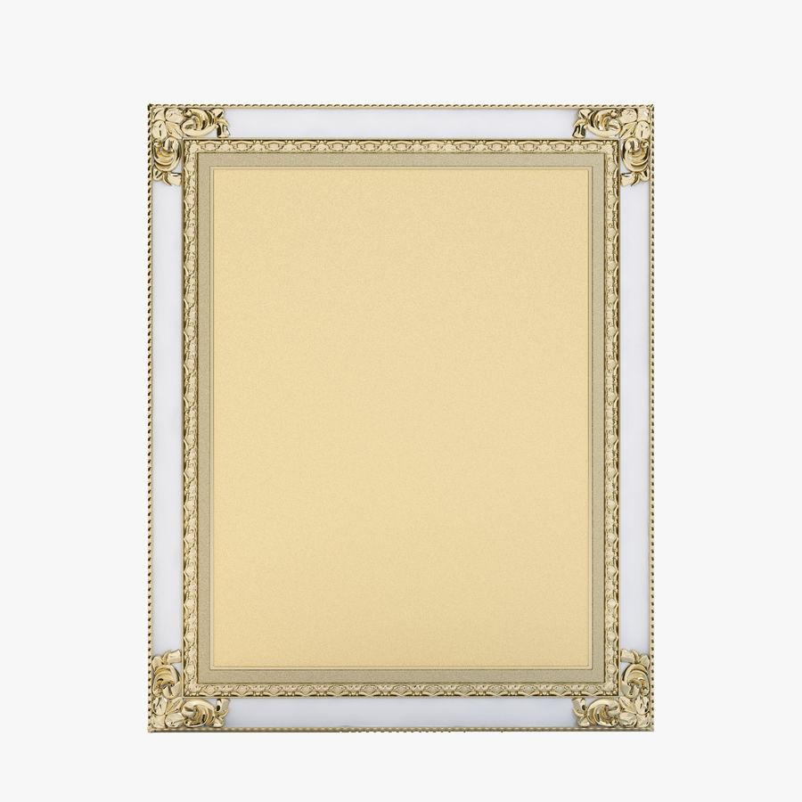 Classic Photo Or Mirror Frame 3D Model $19 - .obj .fbx .3ds .max ...