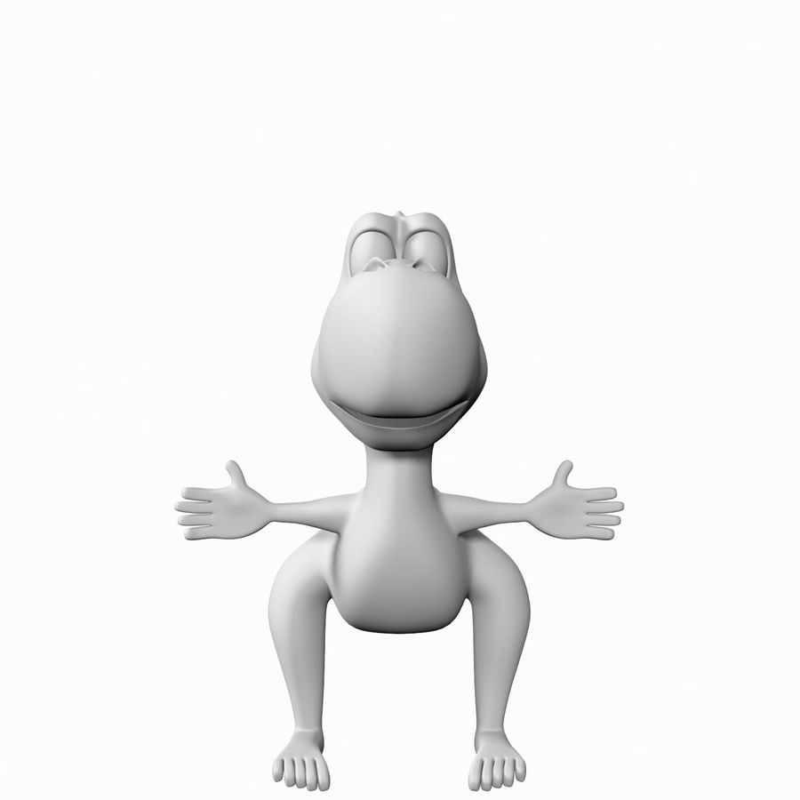 Dinosauro royalty-free 3d model - Preview no. 7