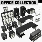 Collection de mobilier de bureau 3d model