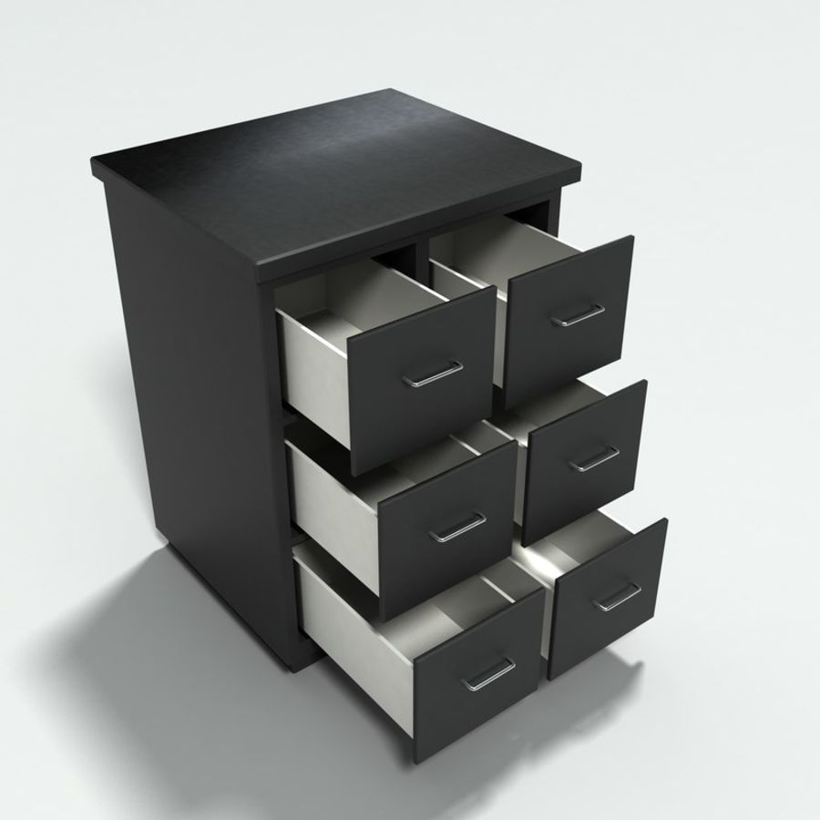 Office Furniture Collection royalty-free 3d model - Preview no. 18
