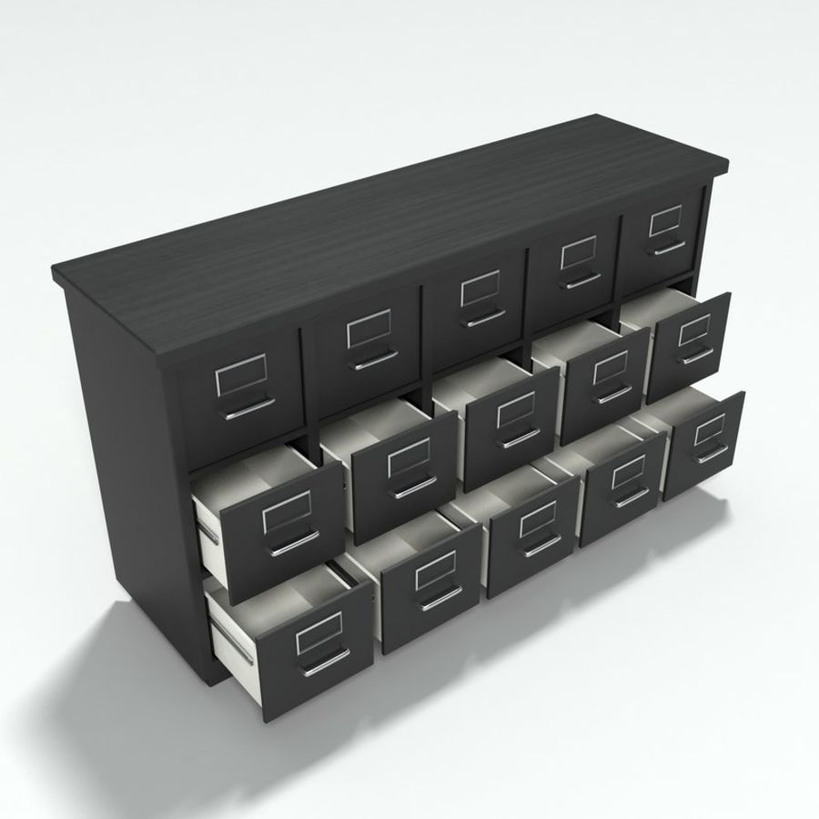 Office Furniture Collection royalty-free 3d model - Preview no. 24