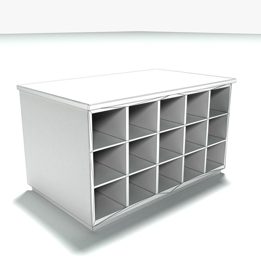 Office Furniture Collection royalty-free 3d model - Preview no. 27