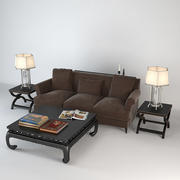 Livingroom Modern  Set 3d model