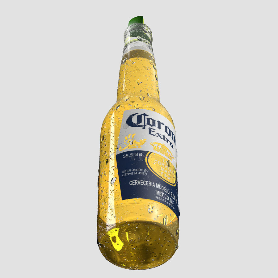 Beer royalty-free 3d model - Preview no. 6