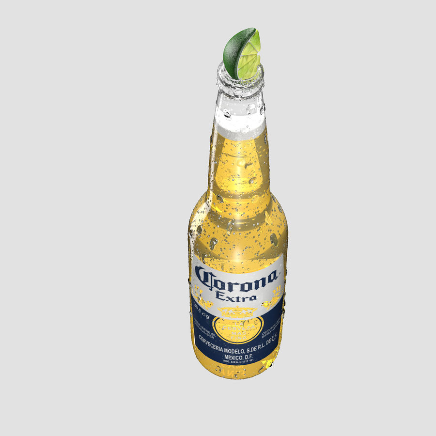 Beer royalty-free 3d model - Preview no. 5