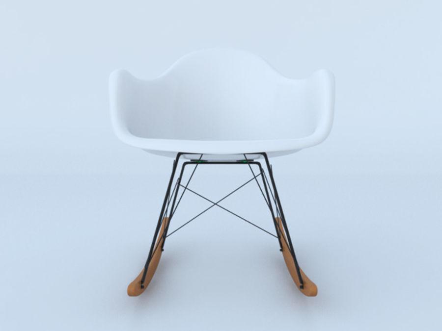 Charles Eames Rar Schaukelstuhl Aus Kunststoff 3d Modell 20 Fbx