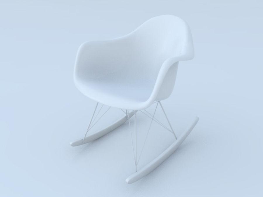 Pleasant Charles Eames Rar Plastic Rocking Chair 3D Model 20 Max Inzonedesignstudio Interior Chair Design Inzonedesignstudiocom