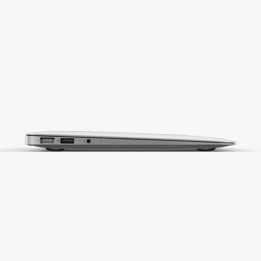 Apple MacBook Air 11 2010 Low-Poly royalty-free 3d model - Preview no. 9