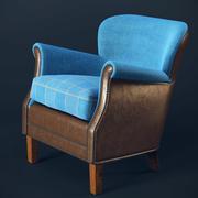 Кресло профессора 3d model