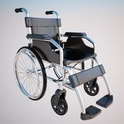 轮椅 3d model