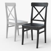 INGOLF IKEA 다이닝 체어 3d model