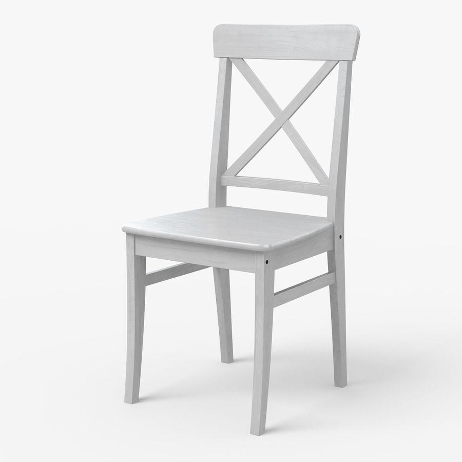 ingolf ikea dining chair 3d model 9 obj fbx 3ds max free3d. Black Bedroom Furniture Sets. Home Design Ideas