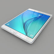 Samsung Galaxy Tab A 9.7 White 3d model