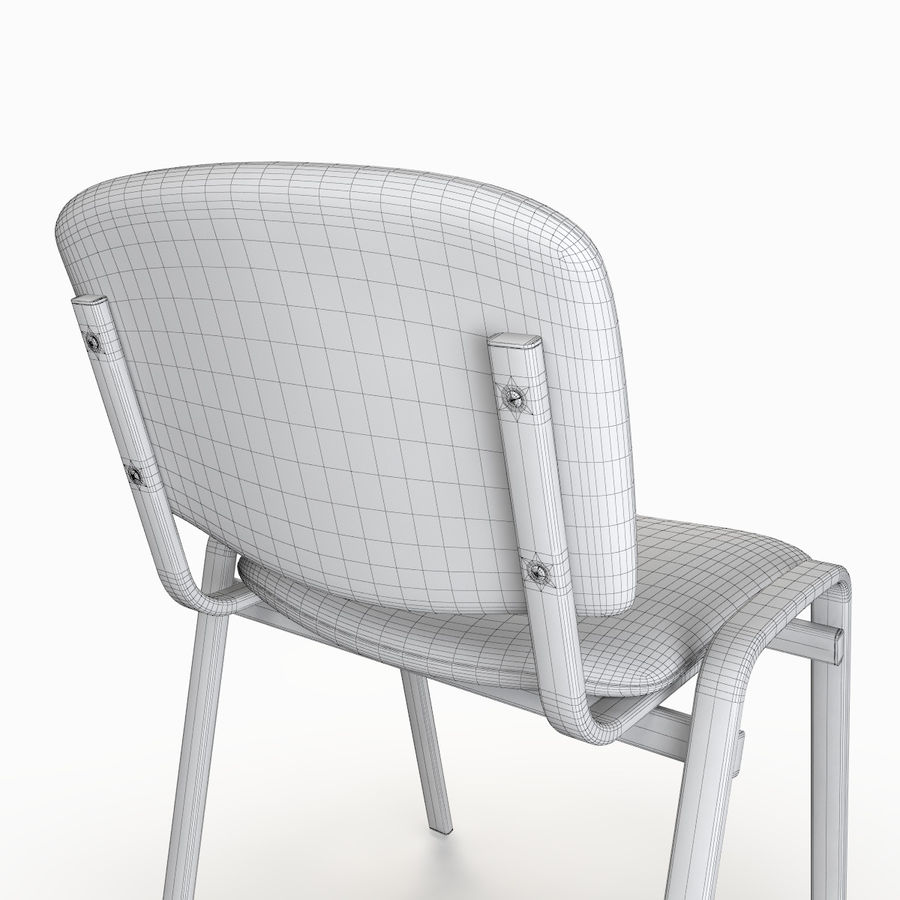 Office Chair royalty-free 3d model - Preview no. 10