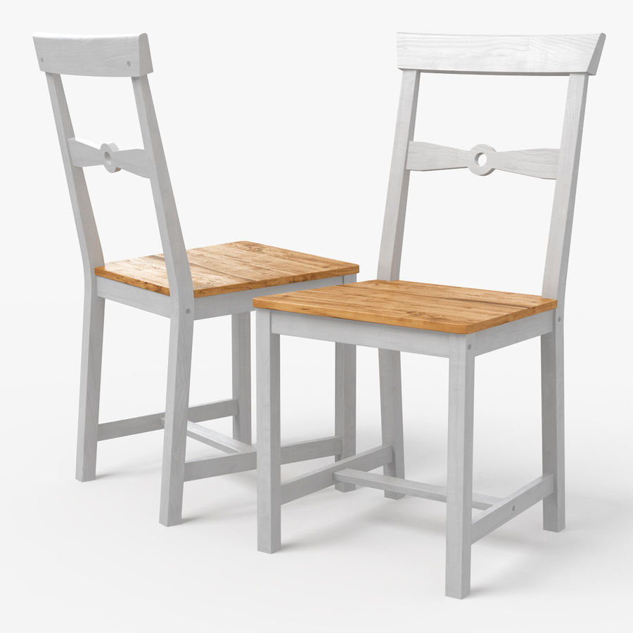 Gamleby Ikea Dining Chair 3d Model