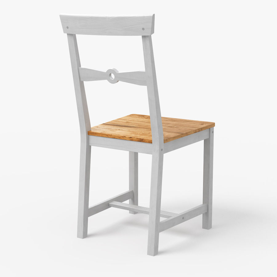 Silla de comedor GAMLEBY IKEA Modelo 3D $9 - .obj .fbx .3ds ...