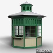 chiosco 3d model