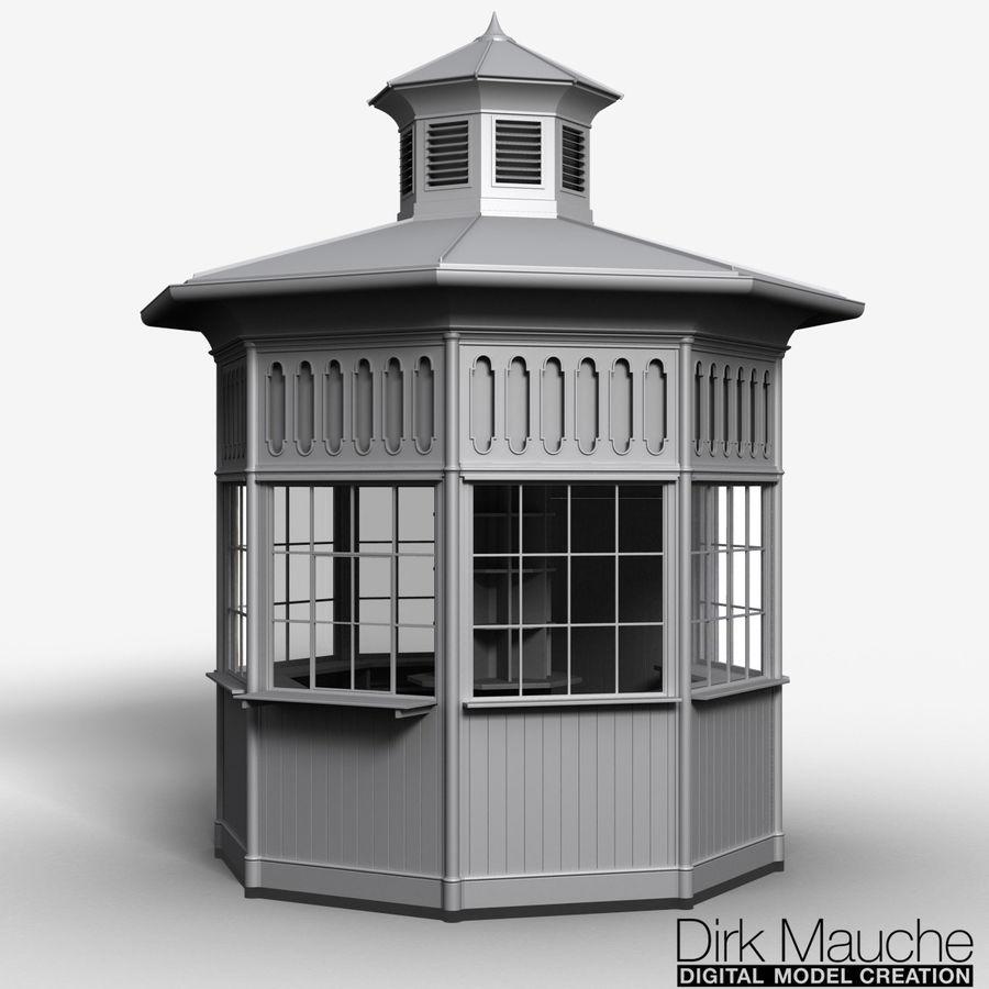 Kiosk 3D Model $19 -  obj  ma  fbx - Free3D