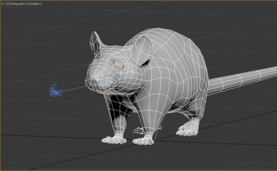 Rat royalty-free 3d model - Preview no. 11