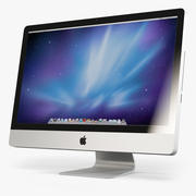 Apple IMac 27 2010 2011 low-poly 3d model