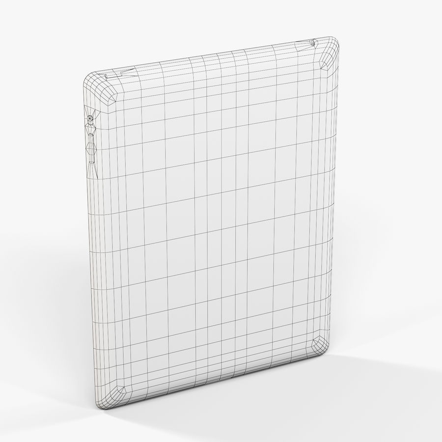 Apple iPad 2 royalty-free 3d model - Preview no. 10