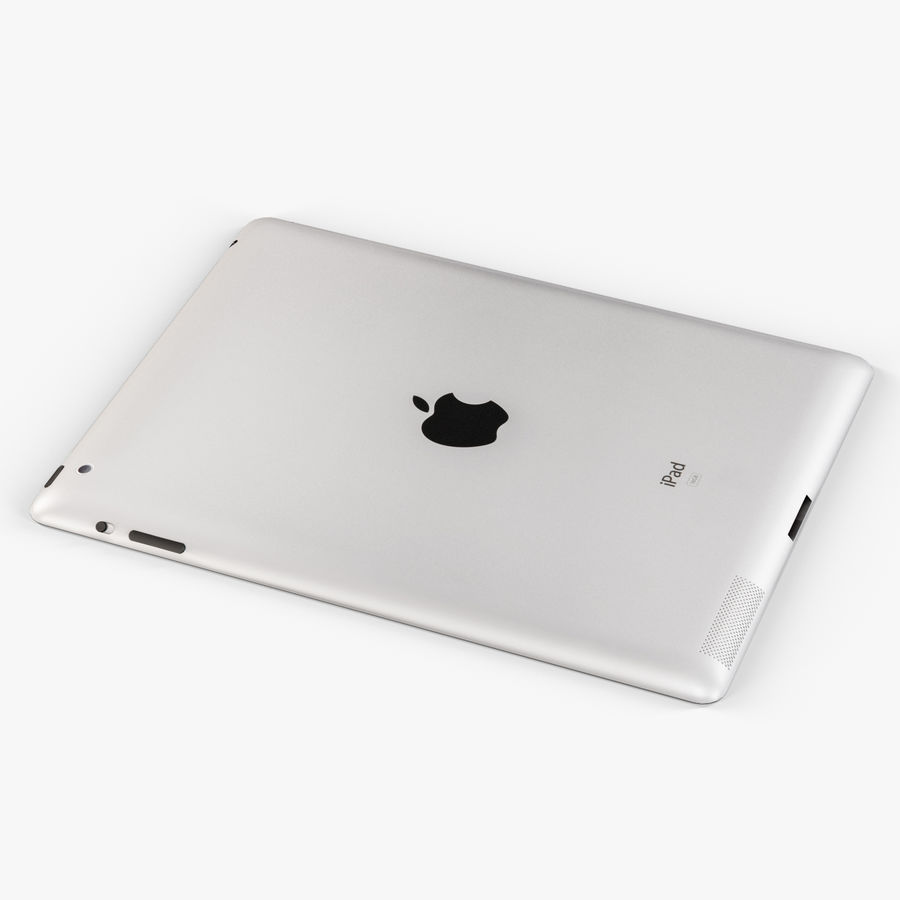 Apple iPad 2 royalty-free 3d model - Preview no. 7