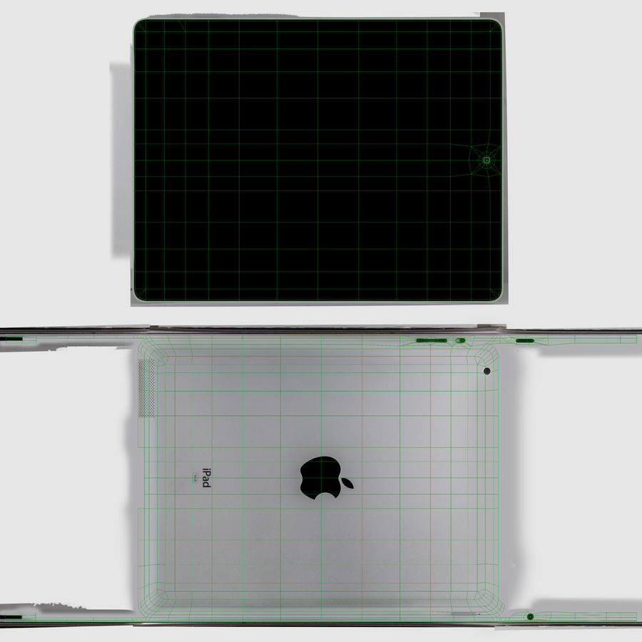 Apple iPad 2 royalty-free 3d model - Preview no. 13