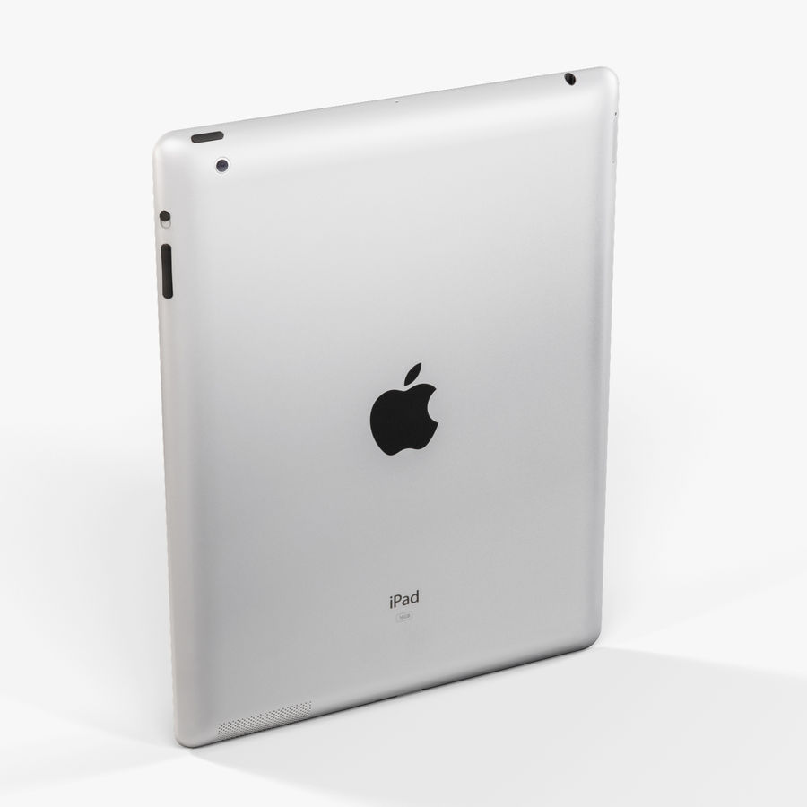 Apple iPad 2 royalty-free 3d model - Preview no. 5