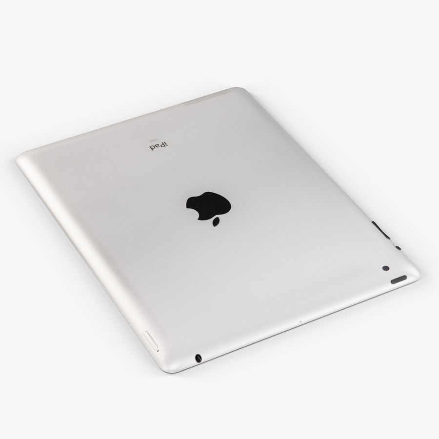 Apple iPad 2 royalty-free 3d model - Preview no. 6