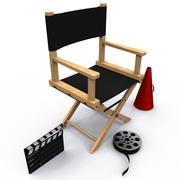 Ausrüstung des Regisseurs 3d model