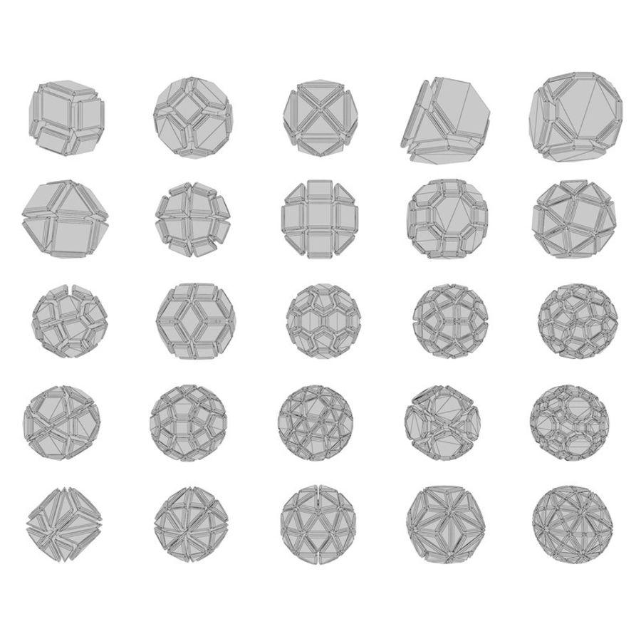 geometric shape pack 06 3d model $15 - .fbx .max - free3d