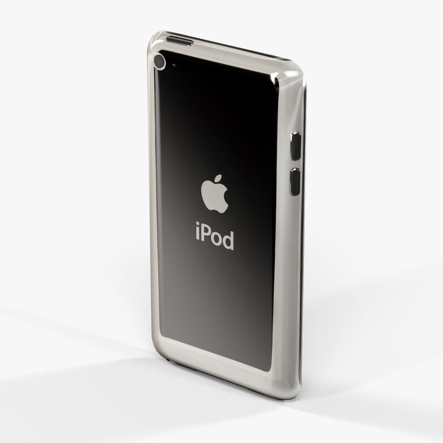 Apple iPod touch 4 Generation royalty-free 3d model - Preview no. 6