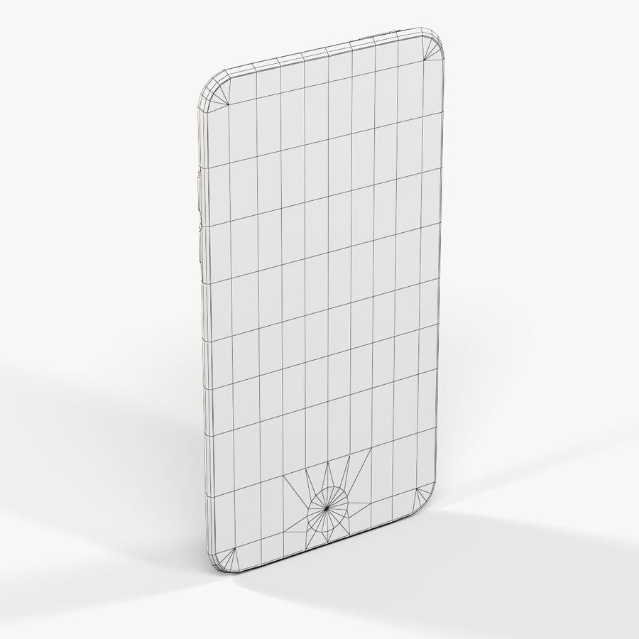 Apple iPod touch 4 Generation royalty-free 3d model - Preview no. 9