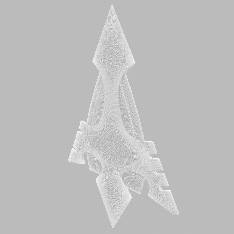 Arrow royalty-free 3d model - Preview no. 11