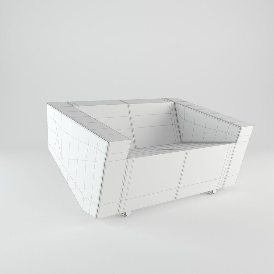 Nurus / To Sofa / 3 Set royalty-free 3d model - Preview no. 8
