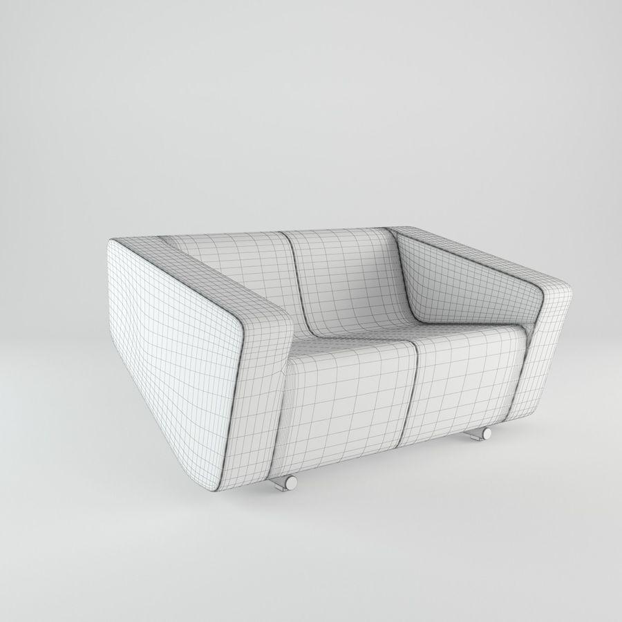 Nurus / To Sofa / 3 Set royalty-free 3d model - Preview no. 7