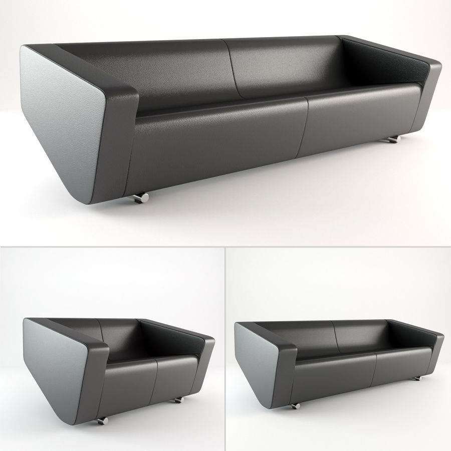 Nurus / To Sofa / 3 Set royalty-free 3d model - Preview no. 1