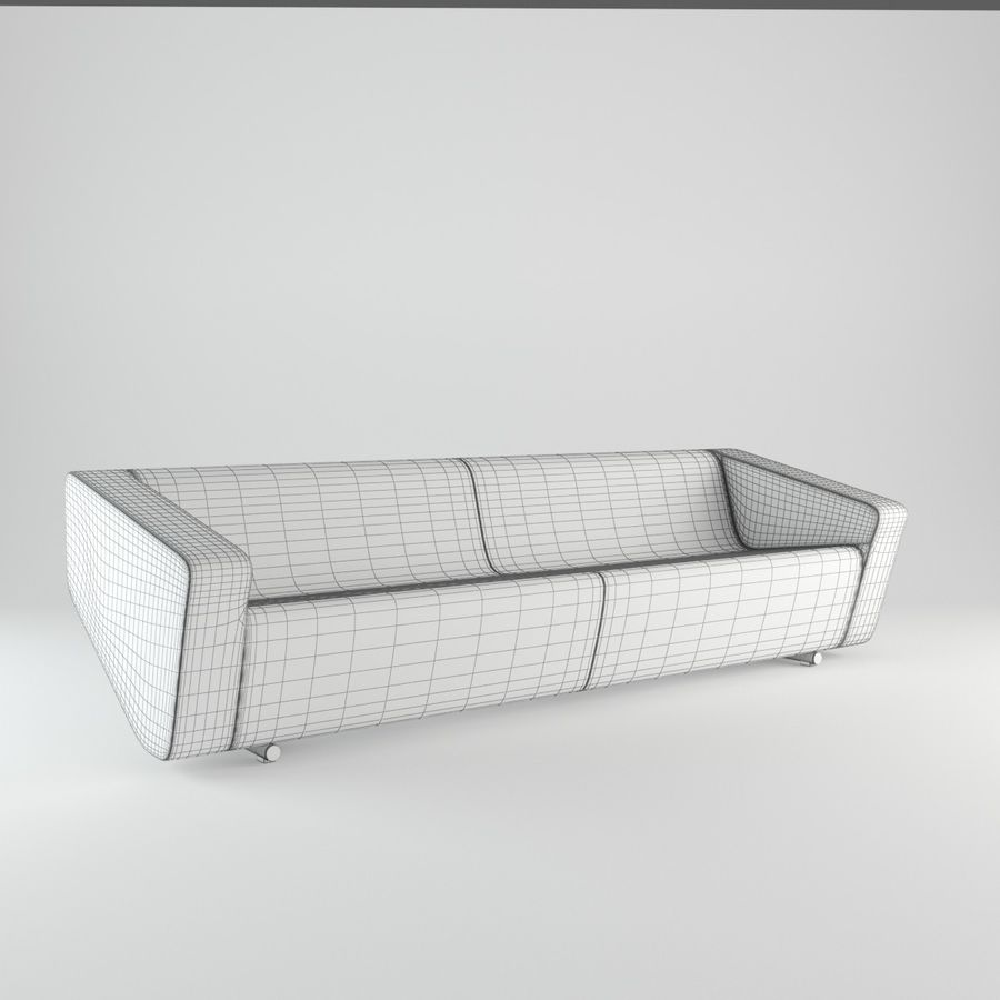 Nurus / To Sofa / 3 Set royalty-free 3d model - Preview no. 16