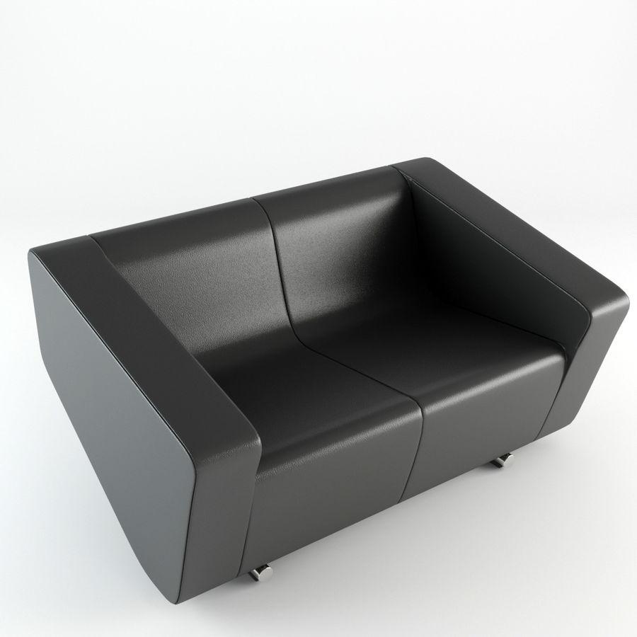 Nurus / To Sofa / 3 Set royalty-free 3d model - Preview no. 6