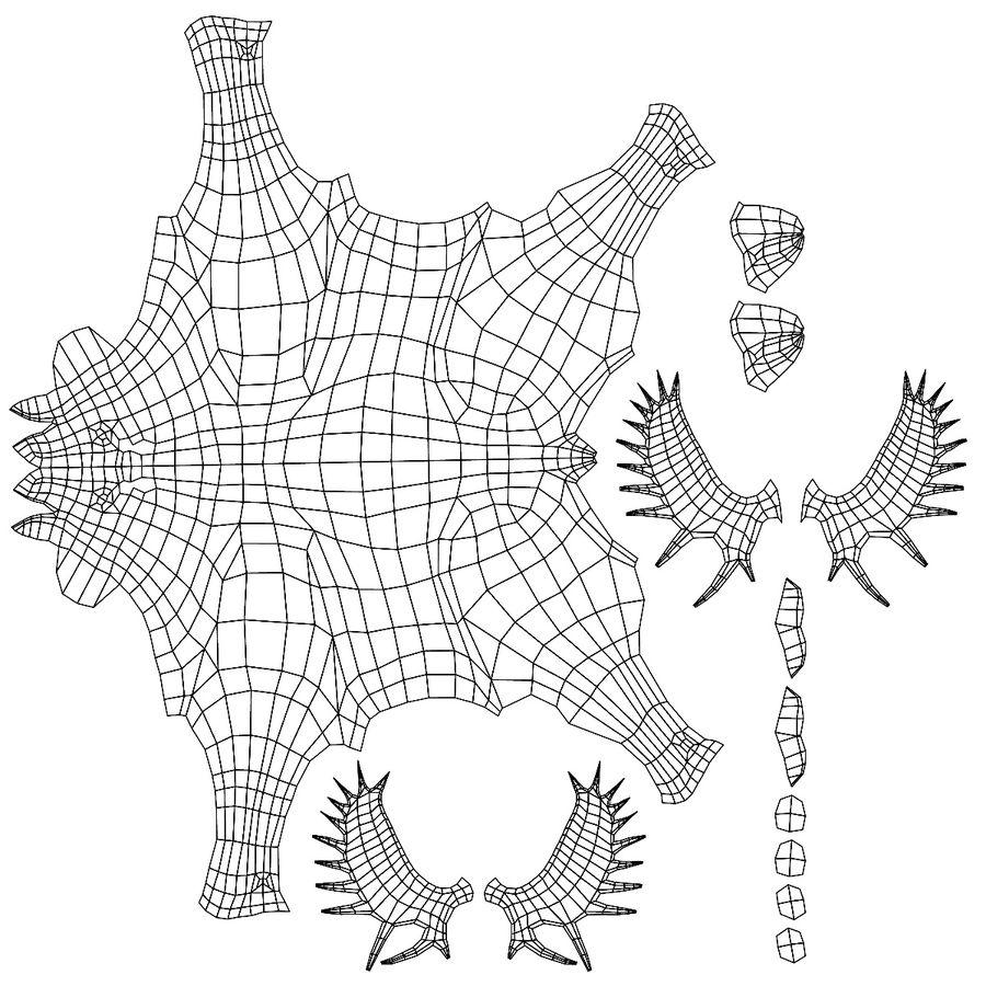Moose base mesh royalty-free 3d model - Preview no. 7