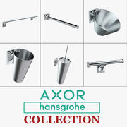 Hansgrohe Axor Starck Accessoires Collection 3d model