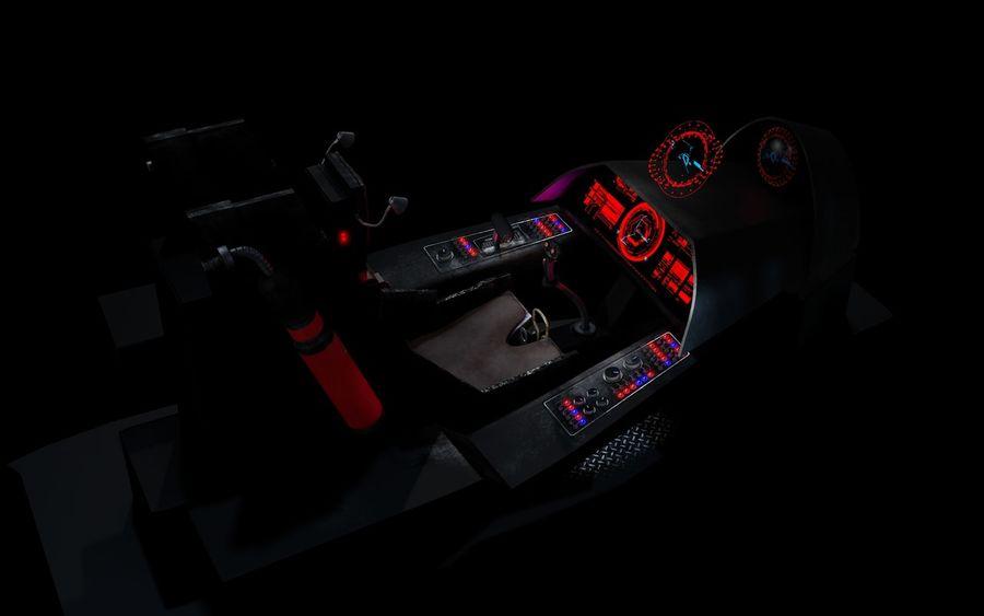 Old Spaceship Cockpit 3D Model $25 -  c4d - Free3D