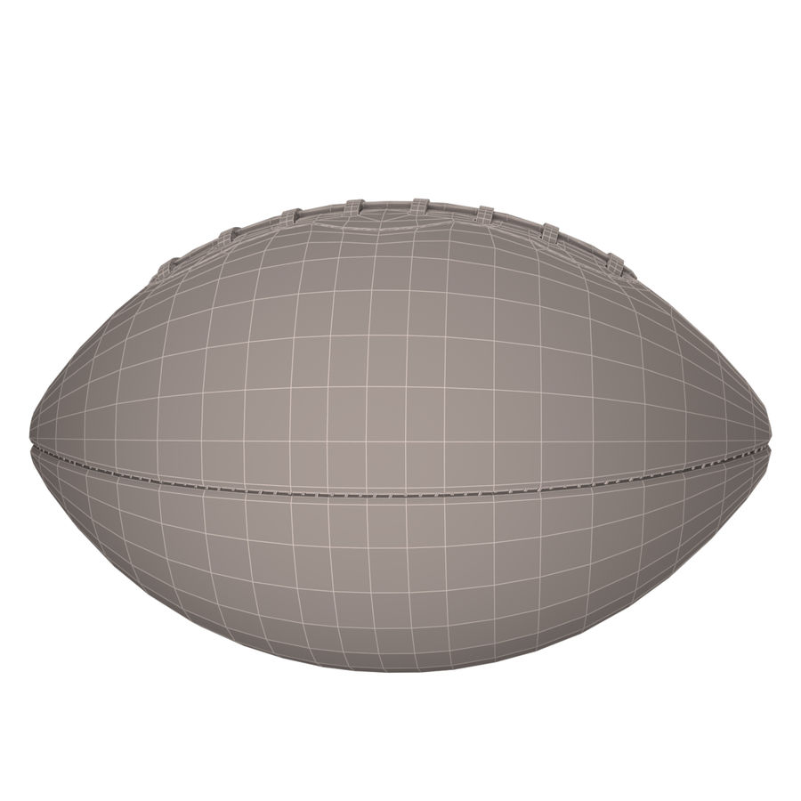 Football Ball royalty-free 3d model - Preview no. 14