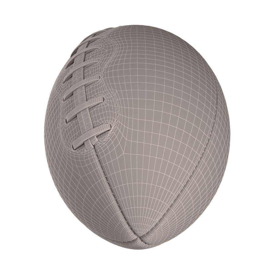 Football Ball royalty-free 3d model - Preview no. 5
