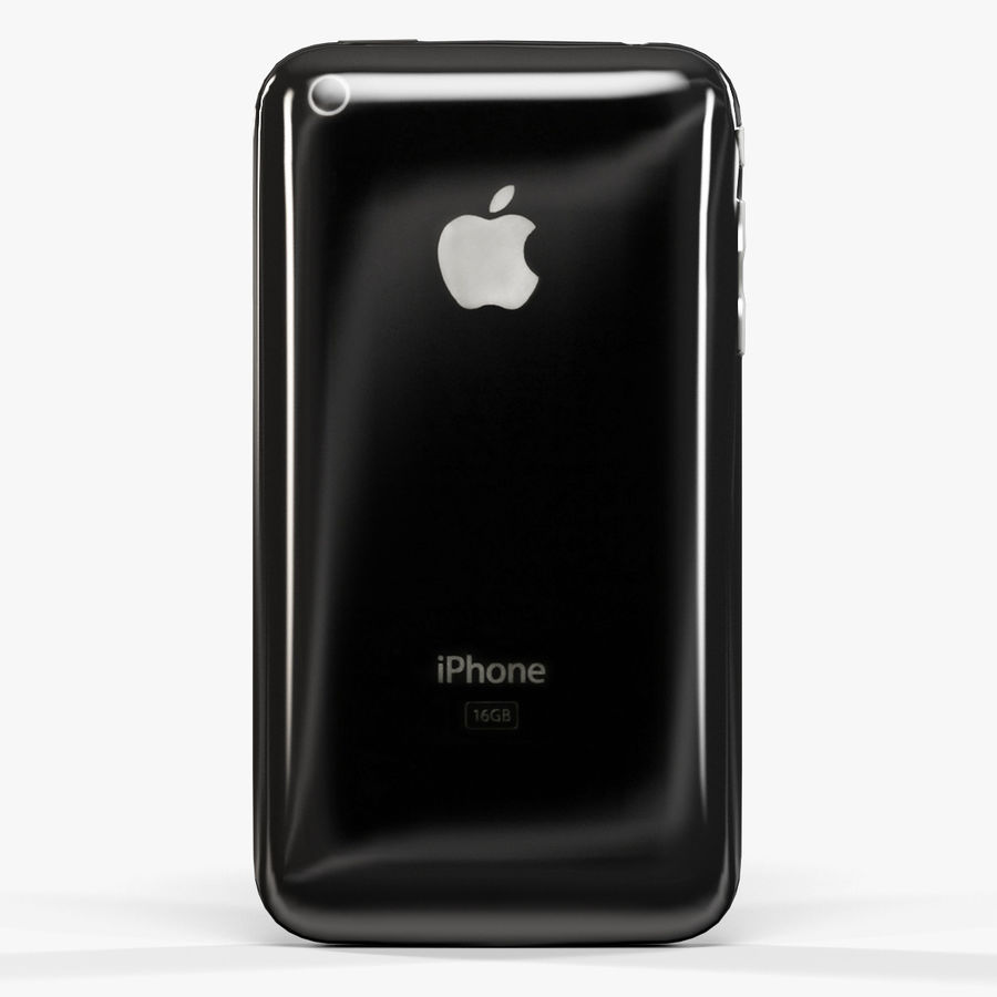 Apple iPhone 3G'ler royalty-free 3d model - Preview no. 5