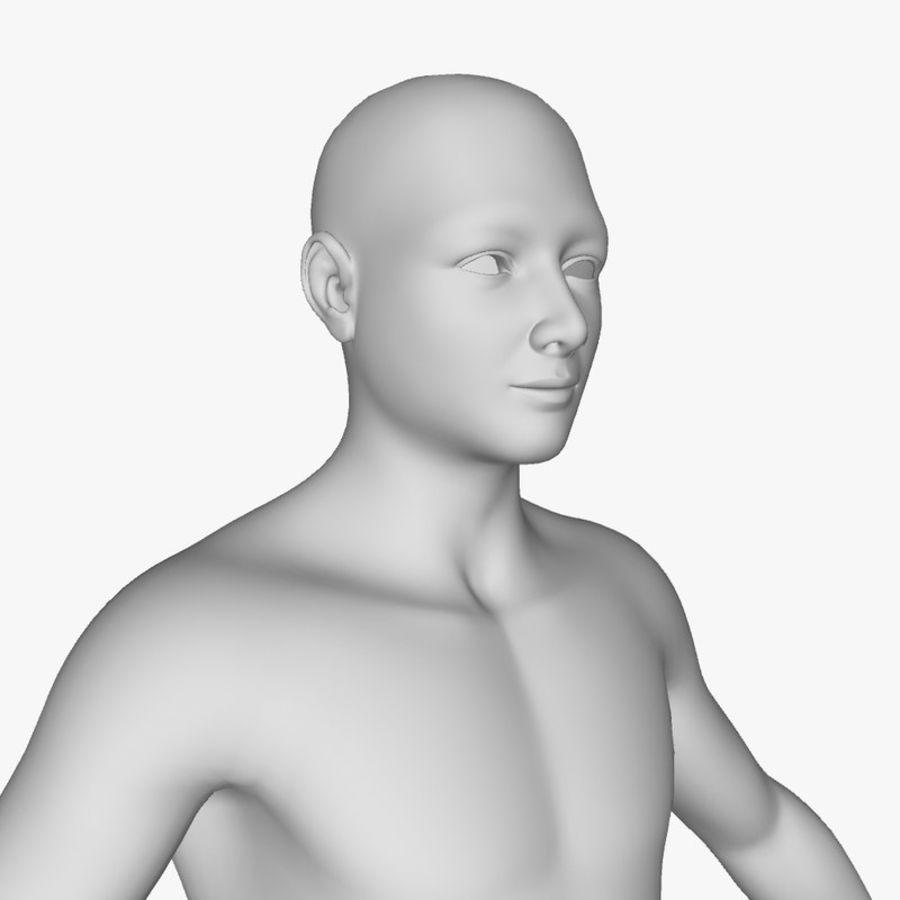 Boy royalty-free 3d model - Preview no. 4