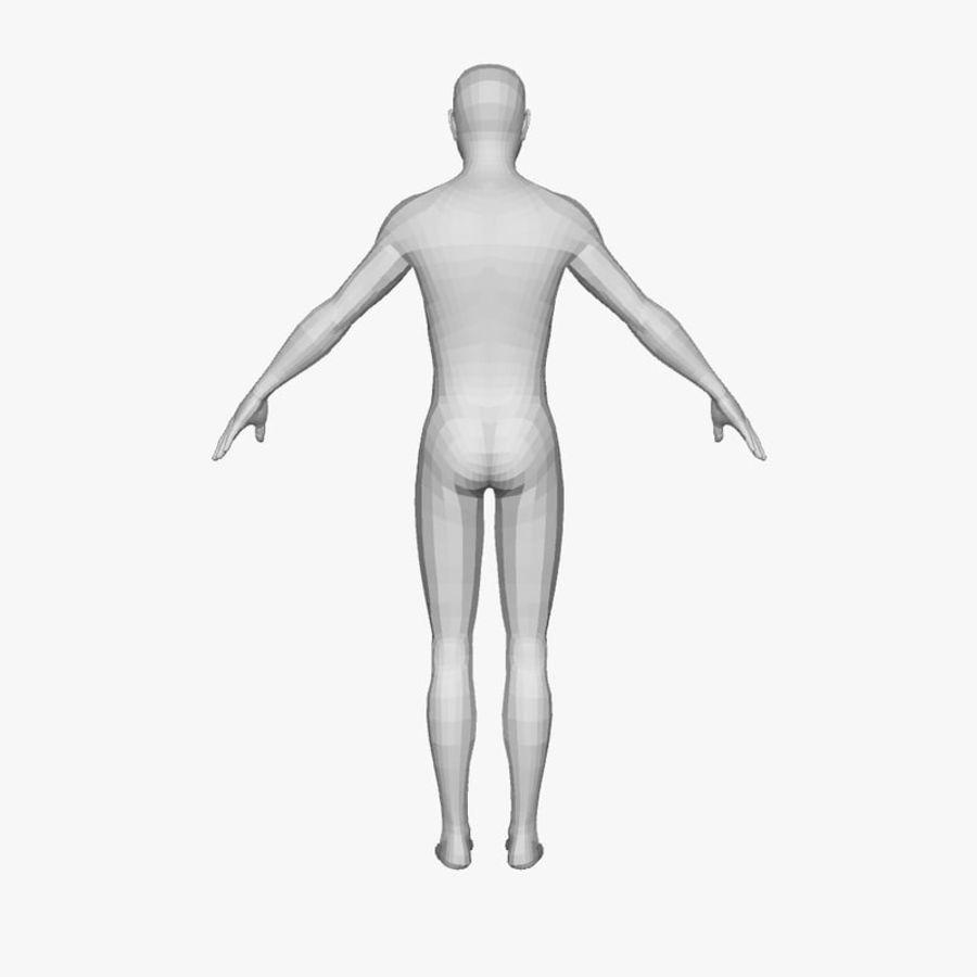 Boy royalty-free 3d model - Preview no. 2