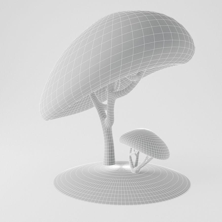 トゥーンツリー royalty-free 3d model - Preview no. 8