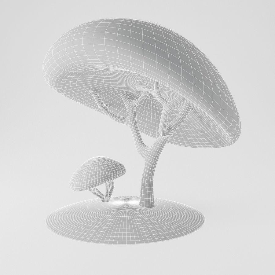トゥーンツリー royalty-free 3d model - Preview no. 10